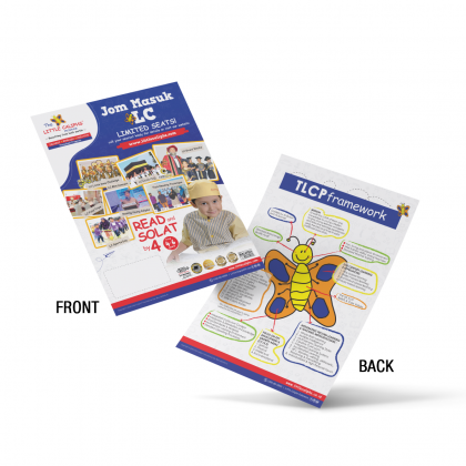 LC Flyers Read & Solat by 4 (1 Pack/200pcs)