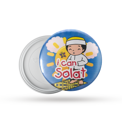Button Badge I CAN SOLAT