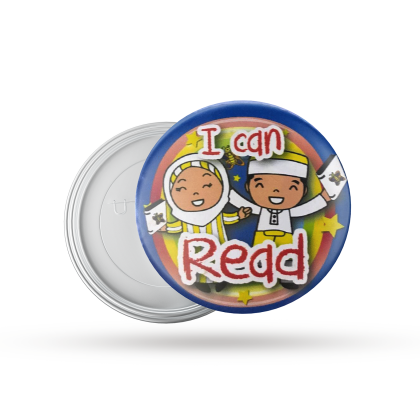 Button Badge I CAN READ