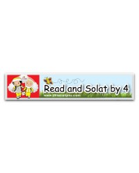 Car Sticker Read and Solat by 4