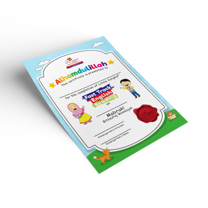 Certificate Fast Track English Reading